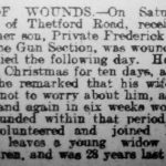 News about Frederick Thompson's death
